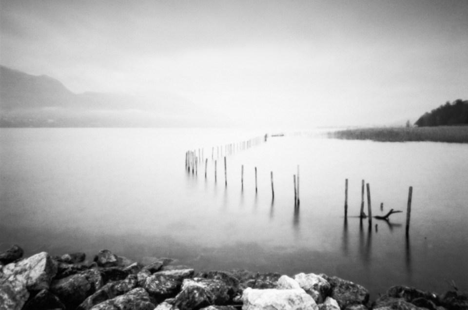 Lac du Bourget en argentique