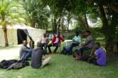 Diskussionsrunde nach dem Dokumentarfilm Workshop im Rahmen des ZIFF