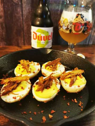 Devilled Eggs Smokey Style - BBQ Feast & Fire