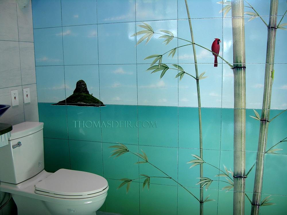 http www thomasdeir com portfolio bathroom tile murals tropical beach oasis