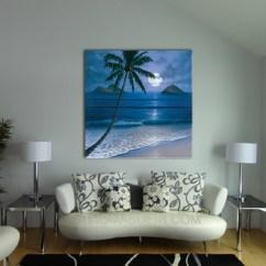 Nice Art For Living Room Furniture Arrangements With Fireplace Paintings The Wall Hawaii Artist Mokulua Custom Giclee