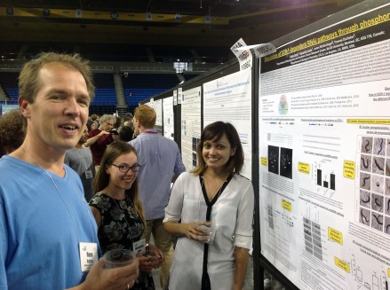 C. elegans Meeting 2015 poster session with Rene Ketting, Alexandra & Ahilya