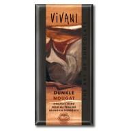 Chokolade med nougat fra Vivani. Vivanis veganske chokolader er rigtig gode.