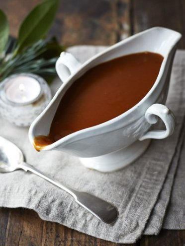 http://www.jamieoliver.com/recipes/vegetables-recipes/vegan-gravy/