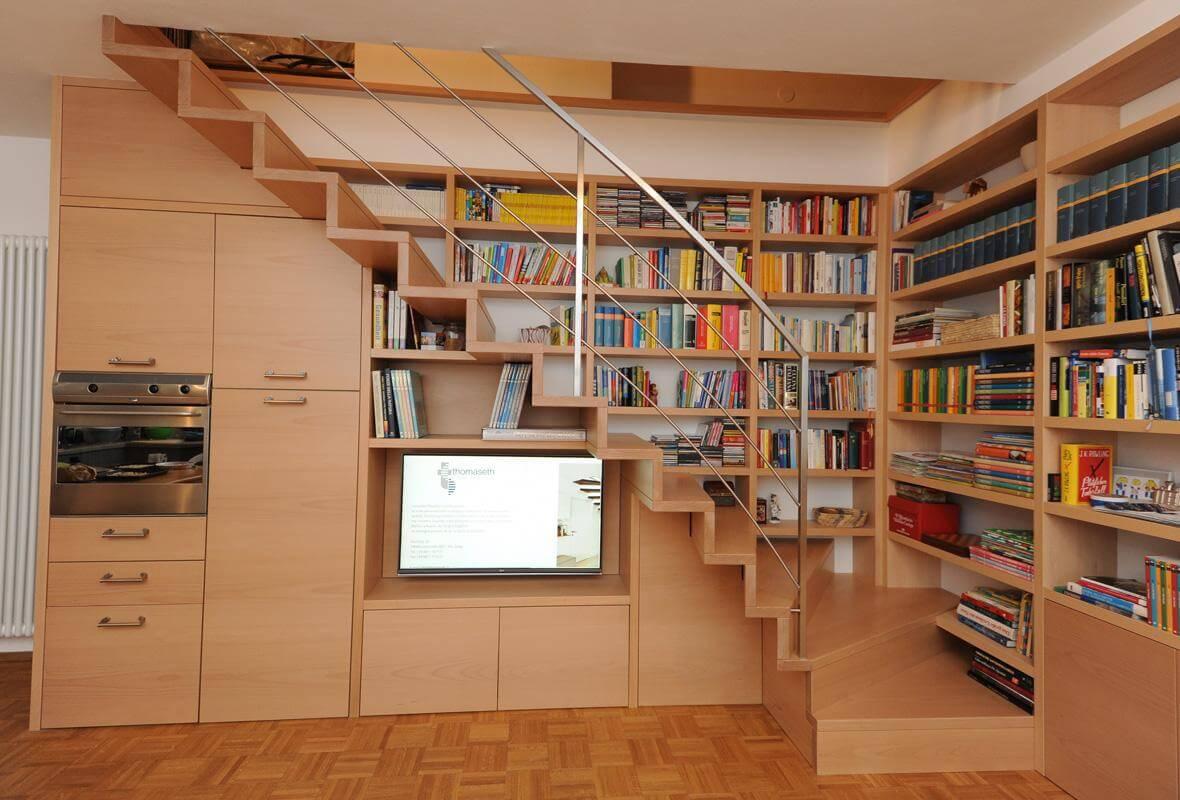 Libreria Con Scala | Libreria Da Ingresso Con Scaletta La Commode Di ...
