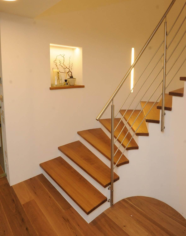 Relativ Holz Auf Betonstufen | Freitragende Treppe Selber Bauen Freitragende SC06