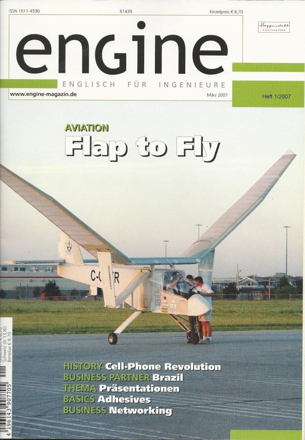 Magazine cover of Engine