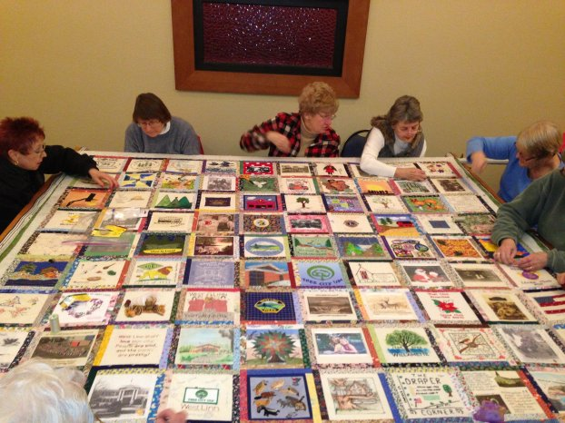 The size and scope of the Centennial Quilt