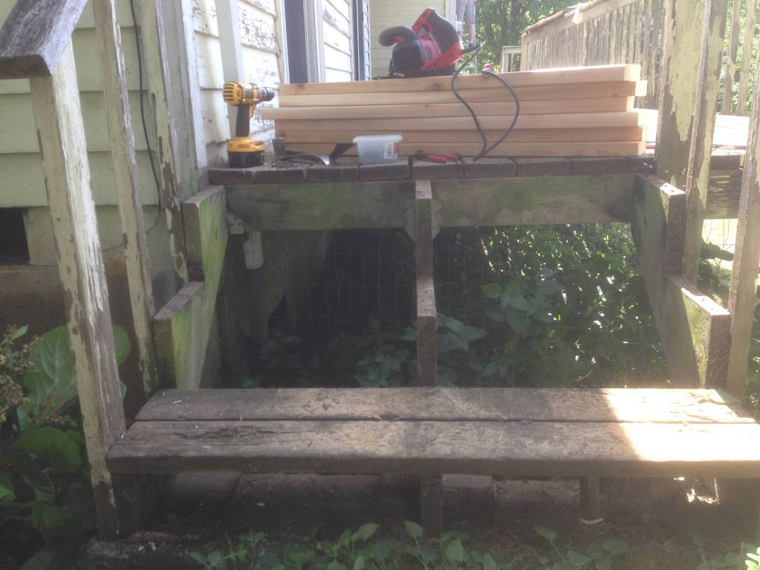 Replacing the Steps