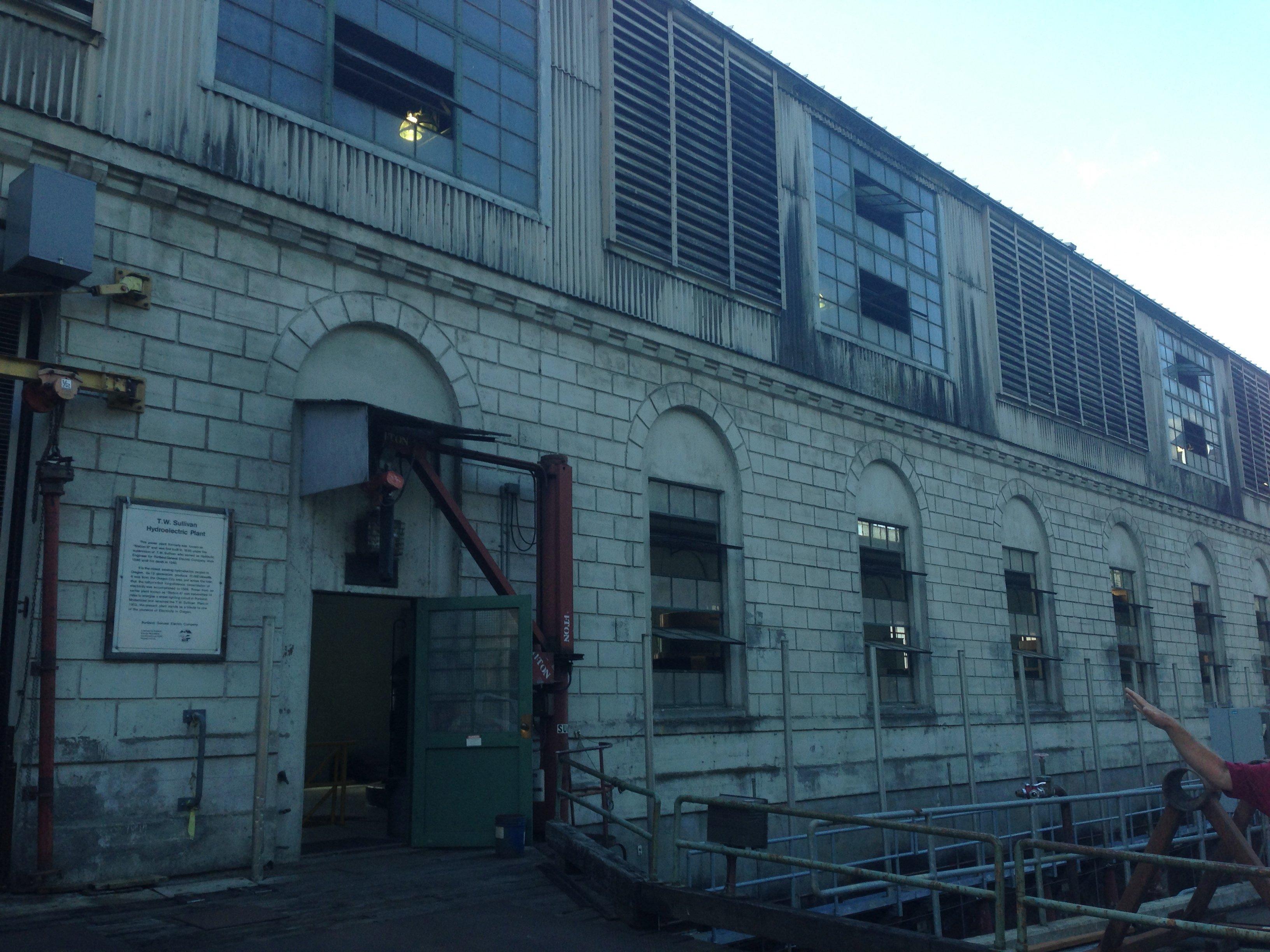 T. W. Sullivan Hydroelectric Plant