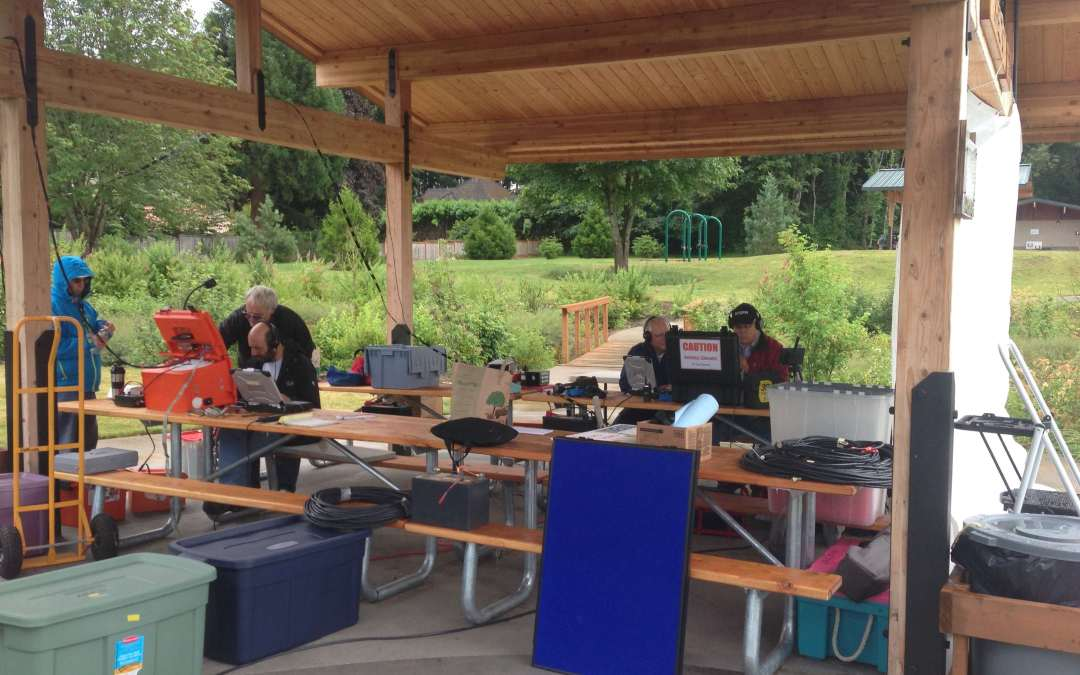 Lake Oswego Amateur Radio Emergency Services Field Day 2014