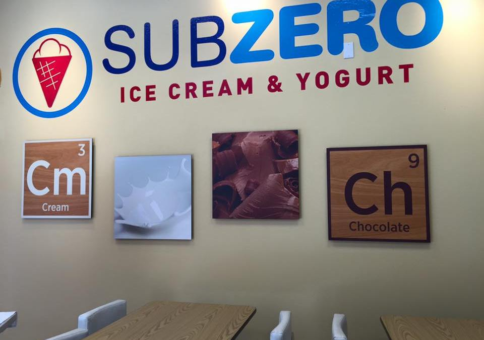 Subzero Ice Cream