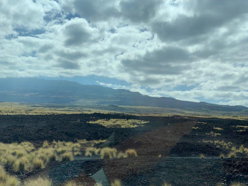 Lava Flow Outside of Kona