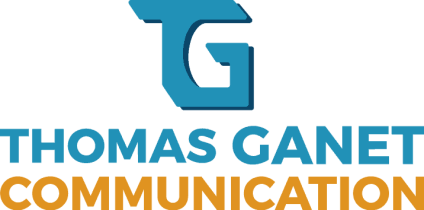 Thomas Ganet Communication Logo Couleur