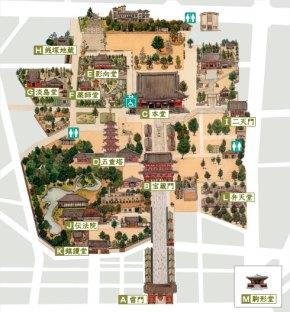 Senso-ji Map