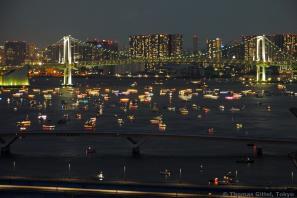 Tōkyō Rainbow Bridge & Yakata Bune