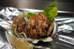 Gegrillte Austern / grilled oysters (かき)