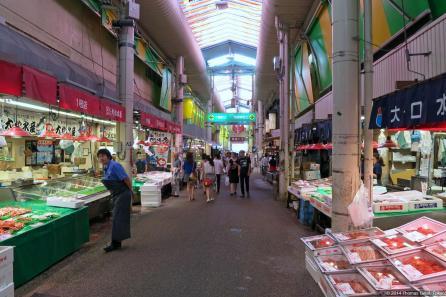 Ōmi-chō Market (近江町市場)