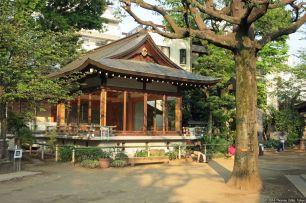Nō-Bühne/Stage Hatomori Hachimangū, Sendagaya