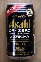 Asahi: Dry Zero Black (2014.10)