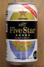 Sapporo Five Star Premium (2016.05) (back)
