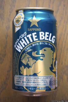 Sapporo White Belg (2016.10) (back)