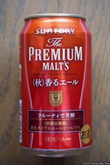 Suntory The Premium Malt's - Aki Kaoru Ale (2016.10) (back)