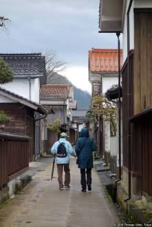 Wakasa, Kura Dōri (若桜・蔵通り)
