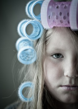 Sometimes you find something in a box. Sometimes you attach that something to your daughter and shoot an image