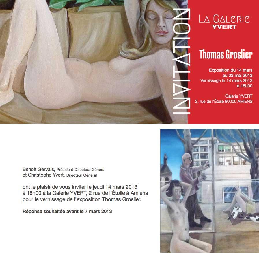 Groslier, galerie Yvert