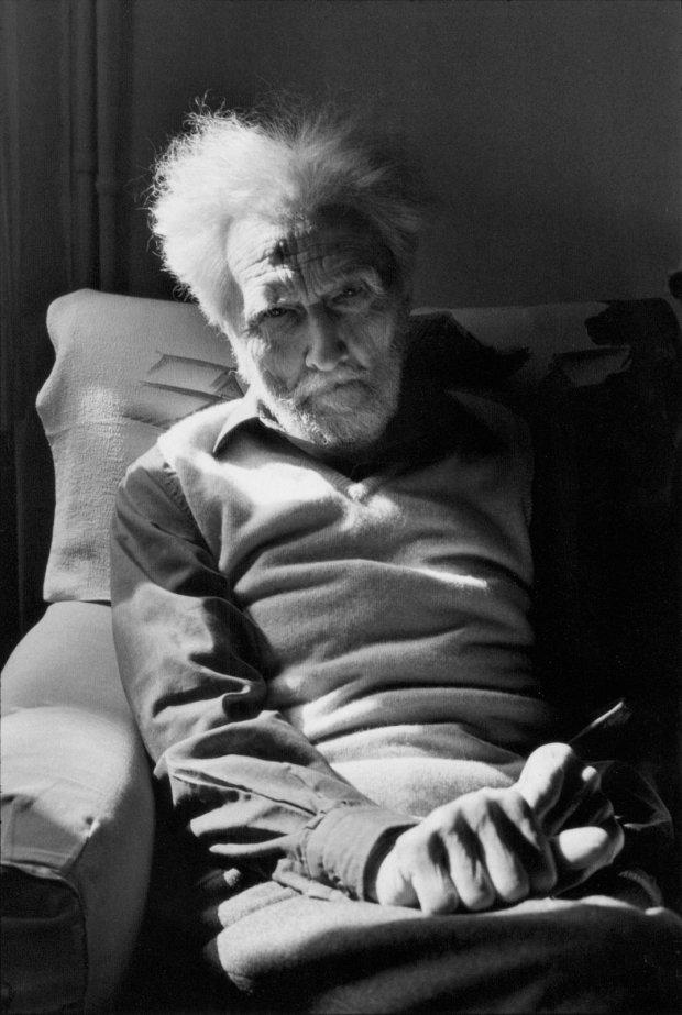 Ezra Pound - H. Cartier-Bresson