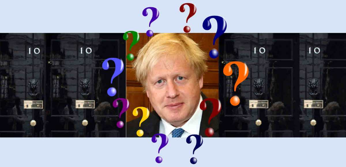 Questions for Boris Johnson