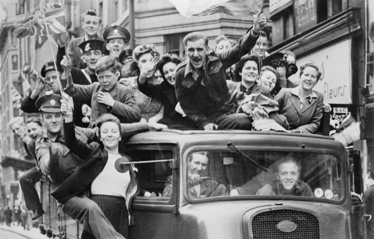VE-Day: rejoicing 75 years of victory and freedom