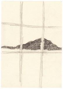 O.T., 2004, Graphit auf Papier, 21 x 14,7cm