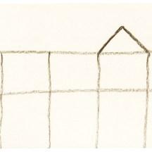 O.T., 2004, Kohle auf Papier, 12,8 x 21 cm