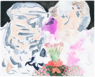 Vesuvio, 2010, Aquarell auf Papier, 11,2 x 13,8cm