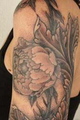 Thomas Hooper Acanthus Flower Sleeve Tattoo201005