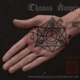 Palm Sigil - Thomas Hooper tattooing - - 001 - September 01, 2011
