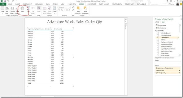 Power View in Excel 2013 Part Two: Maps « Thomas.I