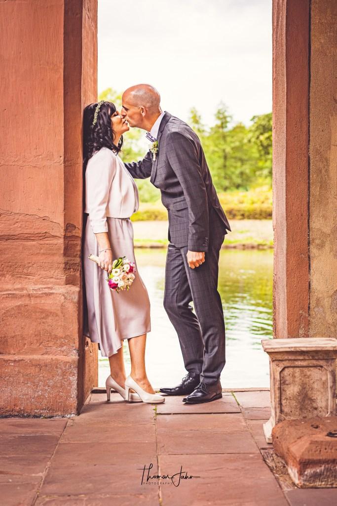 Hochzeit, Kuss, Fotograf