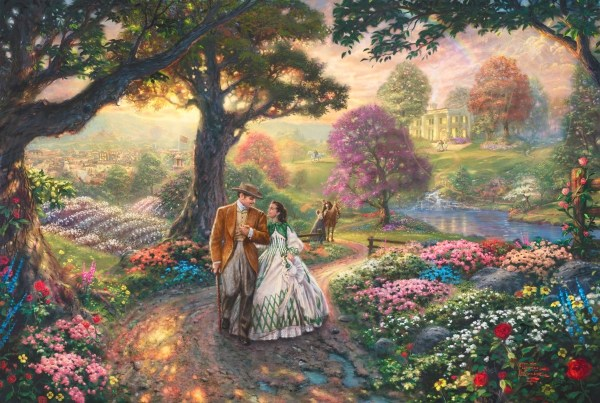 With Wind Thomas Kinkade Studios