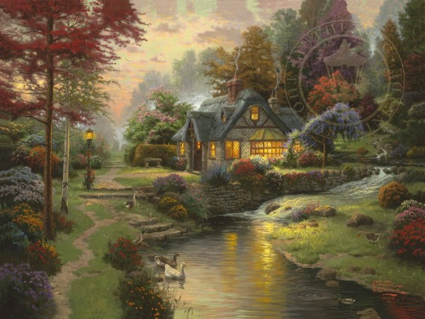 Stillwater Cottage Thomas Kinkade Studios