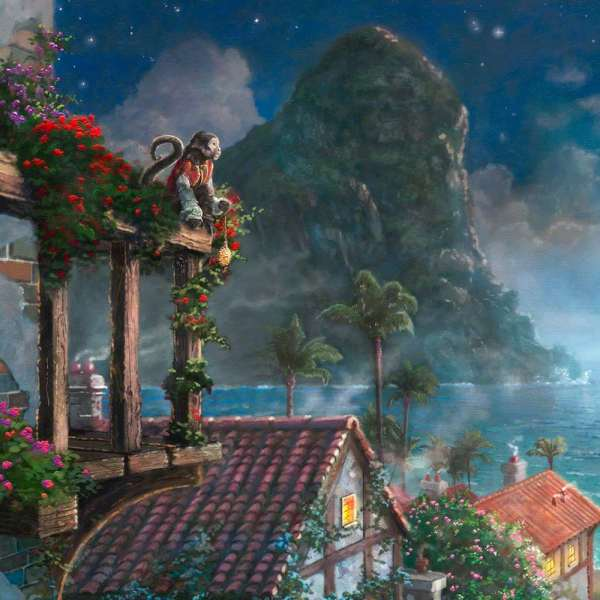 Thomas Kinkade Disney Pirates of the Caribbean
