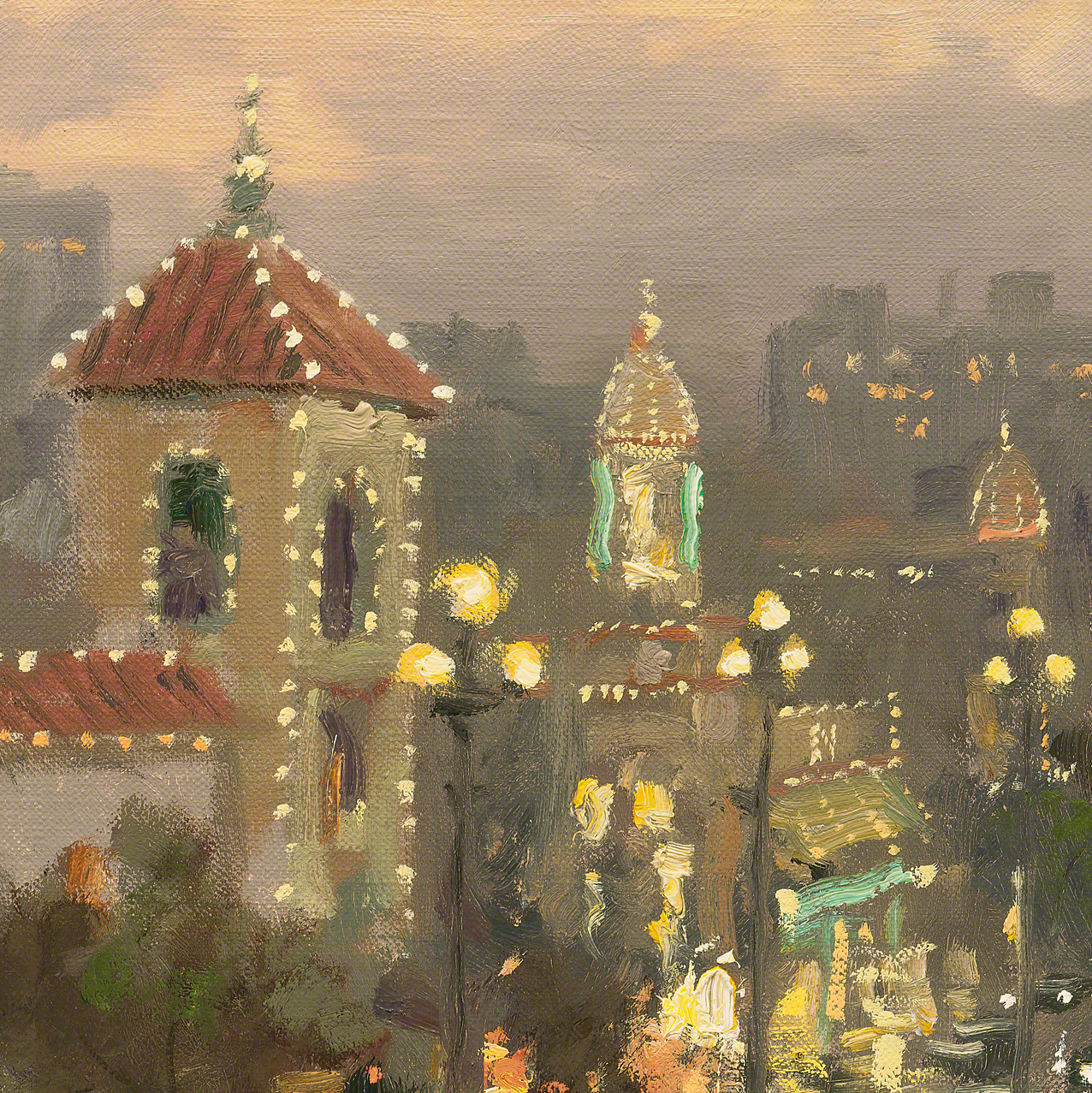 Plaza Lights Kansas City  Limited Edition Art  Thomas