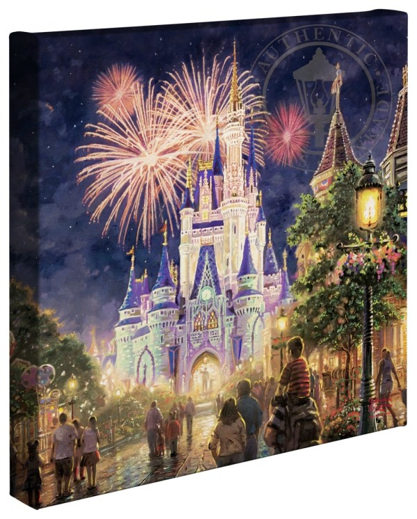 Main Street U. Walt Disney World Resort 14 X Wrapped Canvas Thomas
