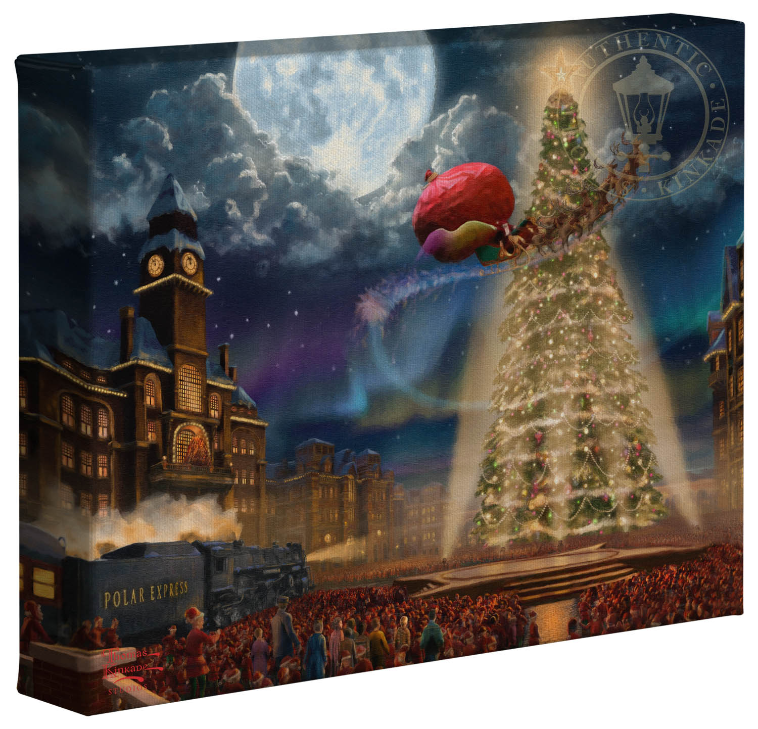 Polar Express The 8 X 10 Gallery Wrapped Canvas