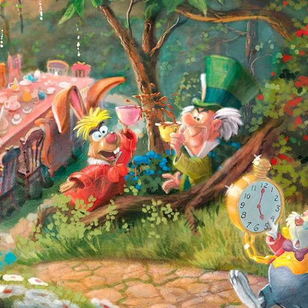 Disney Alice in Wonderland Limited Edition Art Thomas