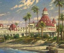Hotel Del Coronado - Thomas Kinkade Galleries Of York
