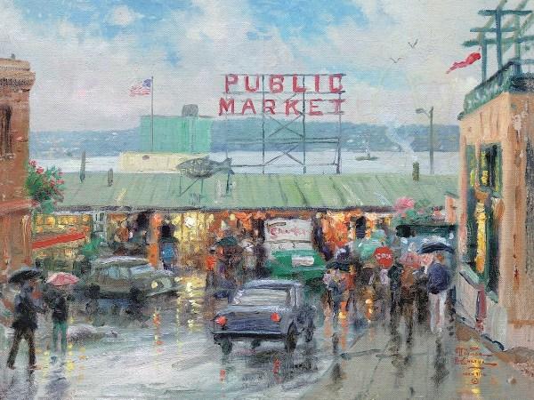 Seattle Pike Place Market Art