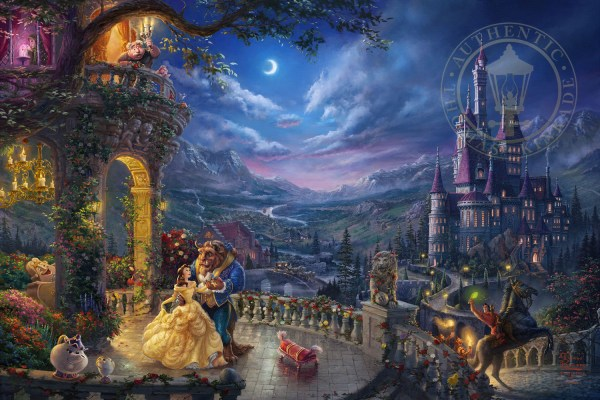 Beauty and the Beast Dancing in the Moonlight Limited